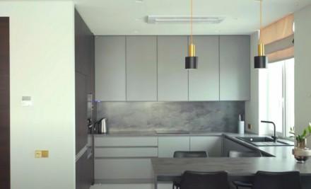 Просторная 2-комнатная квартира выполнена в современном стиле и расположена на 1. Приморский, Одесса, Одесская область. фото 10