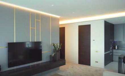 Просторная 2-комнатная квартира выполнена в современном стиле и расположена на 1. Приморский, Одесса, Одесская область. фото 7