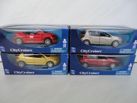 авто машинка RENAULT CLIO MEGANE PEUGEOT 307 206 1:32 New Ray автомобиль игрушка. Львов. фото 1