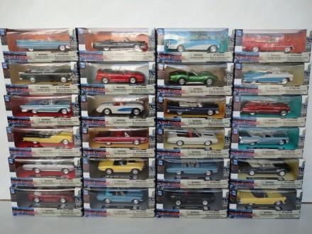 Машинка копія авто 24штуки 1:43 New Ray коллекционная модель автомобиль игрушка. Львов. фото 1