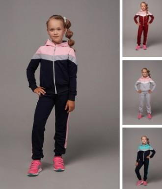 нереальные спортивные костюмы для девочек от 122-146см, разные цвета. Сумы. фото 1