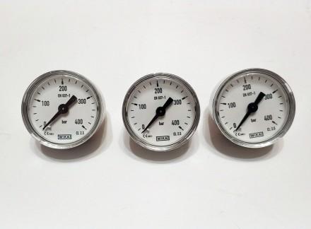 Манометры WIKA 400 атм, производство Австрии, манометры для рср. Запорожье. фото 1