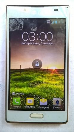 LG P700 б/ушный сенсорный телефон белого цвета в отличном косметическом и рабоче. Херсон, Херсонская область. фото 2