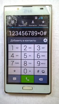 LG P700 б/ушный сенсорный телефон белого цвета в отличном косметическом и рабоче. Херсон, Херсонская область. фото 8