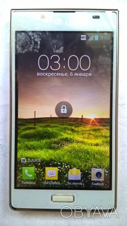 LG P700 б/ушный сенсорный телефон белого цвета в отличном косметическом и рабоче. Херсон, Херсонская область. фото 1