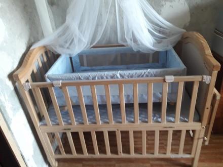 Продается детская кроватка. Кривой Рог. фото 1