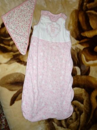 Спальный мешок для сна новорожденному. Желтые Воды. фото 1