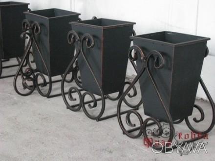 Урна металева для сміття