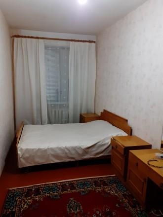 Двухкомнатная  квартира общей площадью 42 кв.м. на первом этаже четырех-этажного. Чернигов, Черниговская область. фото 6