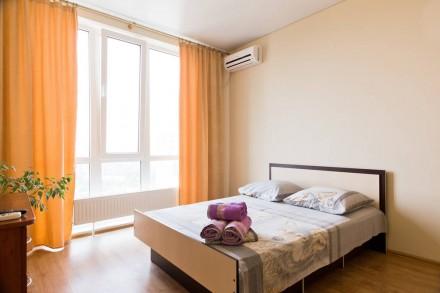 Новый дом на Таирова, охраняемая территория! Уютная и светлая квартира на 22-м э. Таирова, Одесса, Одесская область. фото 2