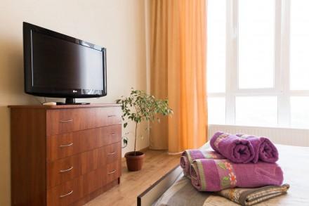 Новый дом на Таирова, охраняемая территория! Уютная и светлая квартира на 22-м э. Таирова, Одесса, Одесская область. фото 3