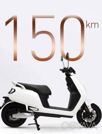 S5 -новый, супер качественный электрический скутер с европейской сертификацией.. Киев, Киевская область. фото 1