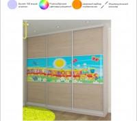 Шкаф-купе для детской комнаты от Дизайн-Стелла, Киев. Киев. фото 1