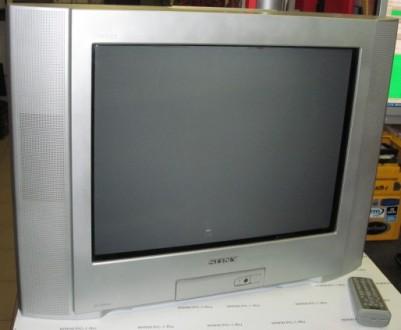 Телевизор sony trinitron kv 21cl5k с плоским экраном, в отличном состоянии, отра. Лохвица, Полтавская область. фото 2