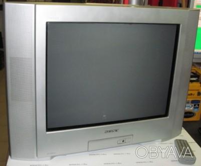 Телевизор sony trinitron kv 21cl5k с плоским экраном, в отличном состоянии, отра. Лохвица, Полтавская область. фото 1