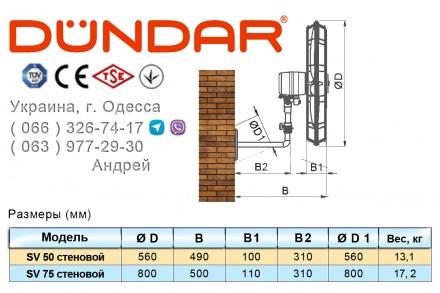 Заказать или купить в Одессе напольные и настенные вентиляторы DUNDAR серии SV, . Одесса, Одесская область. фото 5