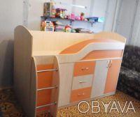Детская кровать с ящиками и тумбами. Харьков. фото 1