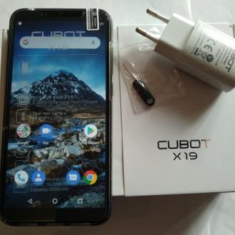 CUBOT X19 4G фаблет 5,93 дюймовий FHD+ дісплеєм  і з хорошими потрійними камера. Тернопіль, Тернопільська область. фото 9