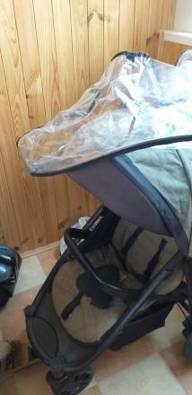 Прогулочна коляска після однієї дитини.В хорошому стані.Чуть вигорівша на сонці . Городище, Черкасская область. фото 2