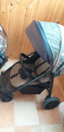Прогулочна коляска після однієї дитини.В хорошому стані.Чуть вигорівша на сонці . Городище, Черкасская область. фото 3
