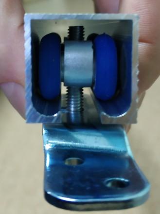 Раздвижная система для дверей EKF E-120100-02 применяется для монтажа не тяжелых. Чернигов, Черниговская область. фото 5