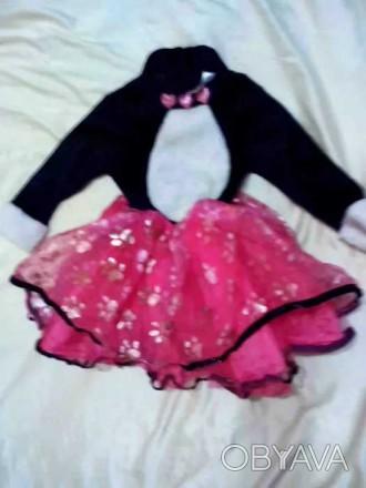 Карнавальный костюм Кошка для девочки 1,5 - 2 года