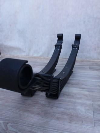 Рессорные листы ,усиленные рессоры в сборе Хаммер Н3\Hummer H3  Снабжены против. Запорожье, Запорожская область. фото 6