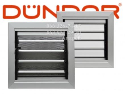 Решётка из алюминиевого профиля DUNDAR с ручным управлением состоит из алюминиев. Одесса, Одесская область. фото 2