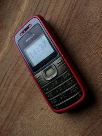 Кнопочный Мобильный Телефон «Nokia 1208»  Телефон в рабочем состоянии. В режим. Одесса, Одесская область. фото 2