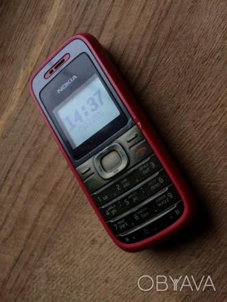 Кнопочный Мобильный Телефон «Nokia 1208»  Телефон в рабочем состоянии. В режим. Одесса, Одесская область. фото 1