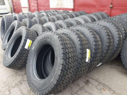 Новые грузовые шины 315/70R22.5 ENERGY BS 739 D приводная ось, аналог Aeolus ADW. Чернигов, Черниговская область. фото 4
