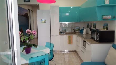 Сдам СВОЮ авторскую, красивую, новую квартиру полностью укомплектованную.Удачное. Аркадия, Одесса, Одесская область. фото 4