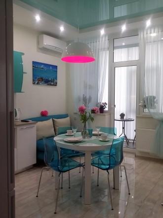 Сдам СВОЮ авторскую, красивую, новую квартиру полностью укомплектованную.Удачное. Аркадия, Одесса, Одесская область. фото 2