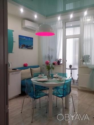 Сдам СВОЮ авторскую, красивую, новую квартиру полностью укомплектованную.Удачное. Аркадия, Одесса, Одесская область. фото 1