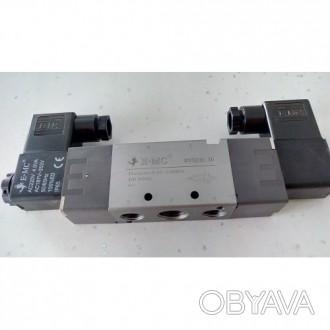 Клапан электромагнитный бистабильный RV5232-10E2, 5/2, G3/8