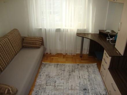 Сдается в аренду 3-х комнатная двухсторонняя квартира в отличном состоянии на 6 . Позняки, Киев, Киевская область. фото 13