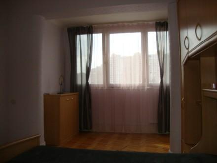 Сдается в аренду 3-х комнатная двухсторонняя квартира в отличном состоянии на 6 . Позняки, Киев, Киевская область. фото 10