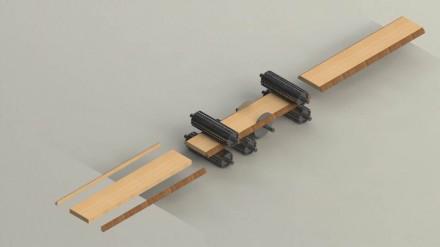 Станок многопильный продольно-обрезной Модель станка MSYM 60 является самой про. Чернигов, Черниговская область. фото 4