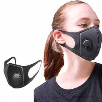 Многоразовые защитные маски с фильтром-клапаном (не медицинские), новые, каждая . Одеса, Одесская область. фото 2