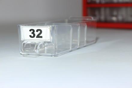 Кассетница (органайзер) на 45 выдвижных ячеек «9 этажей»  Техничес. Черкассы, Черкасская область. фото 4