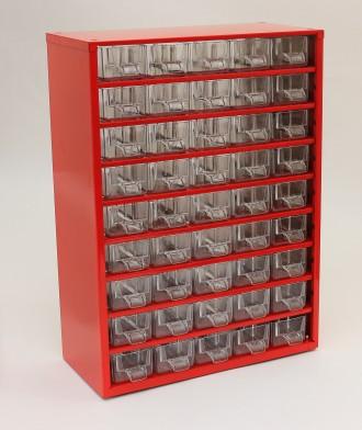 Кассетница (органайзер) на 45 выдвижных ячеек «9 этажей»  Техничес. Черкассы, Черкасская область. фото 8