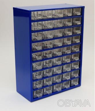 Кассетница (органайзер) на 45 выдвижных ячеек «9 этажей»  Техничес. Черкассы, Черкасская область. фото 1
